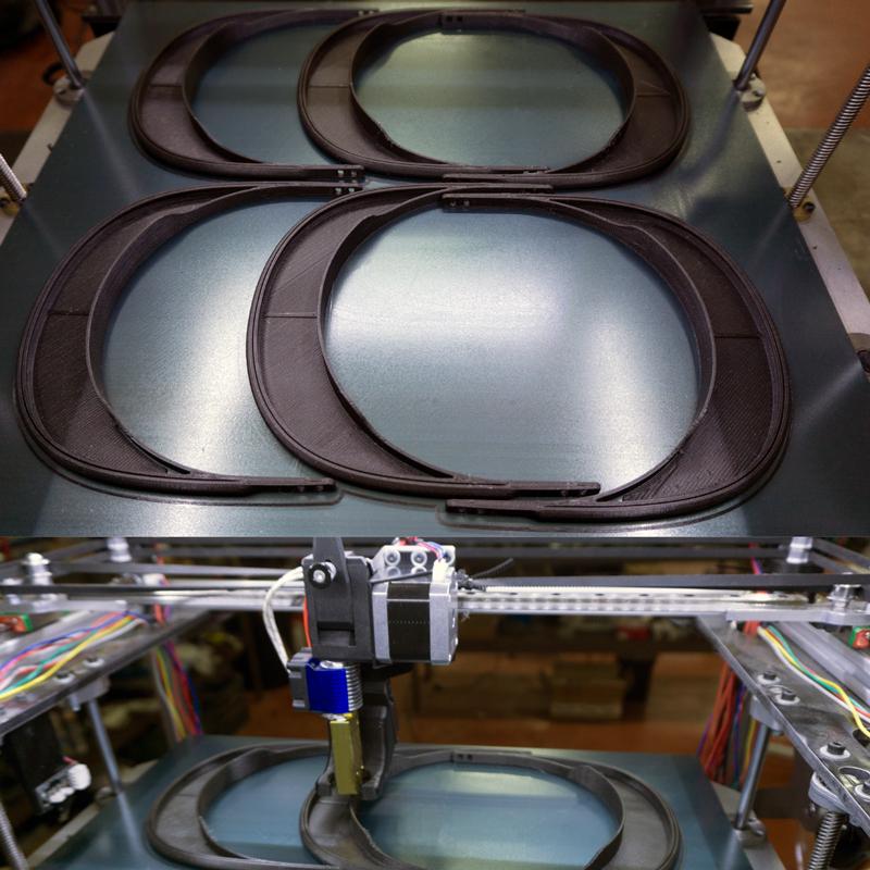 Fabricación en 3D de pantallas de protección
